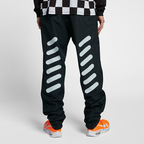 5695f548b6f0a Off White x Nike Mercurial Track Pants Football